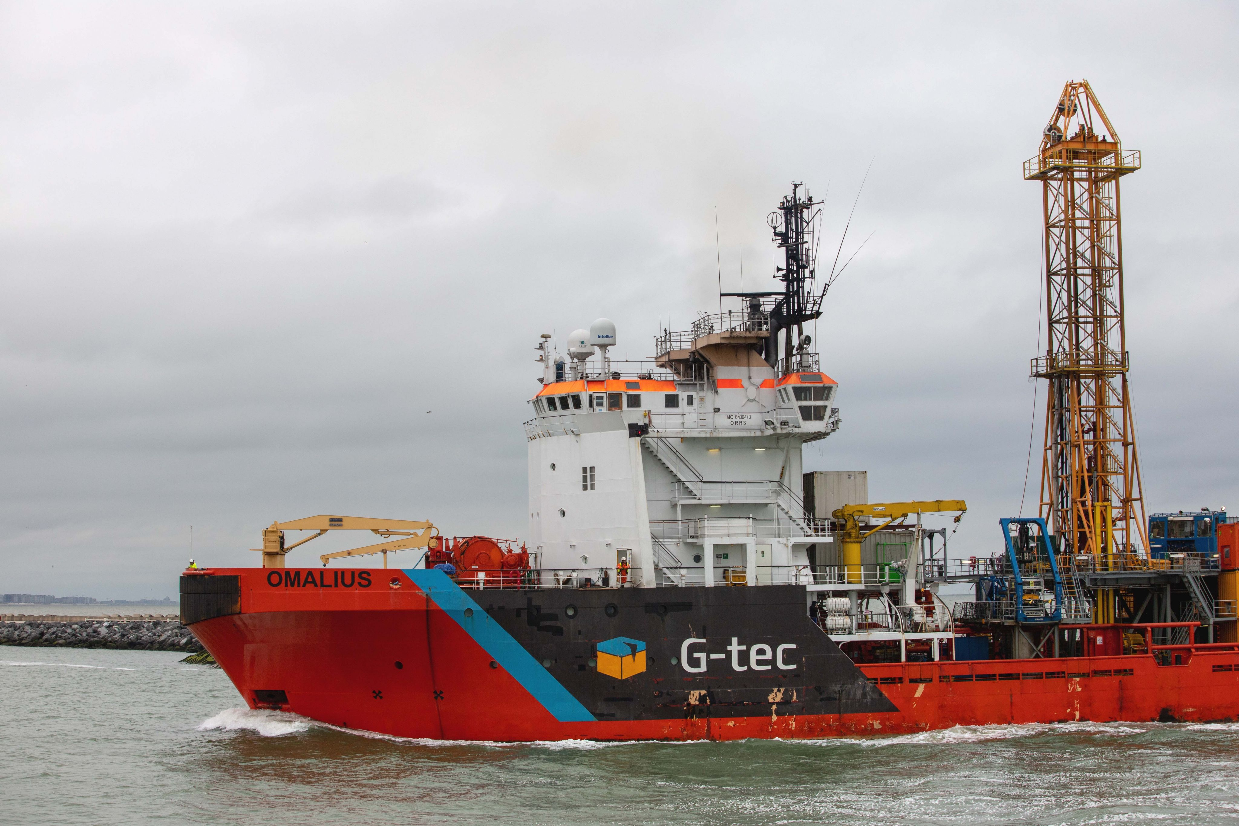 Omalius departed to UK to work for Ørsted on Hornsea Four Geotechnical Project
